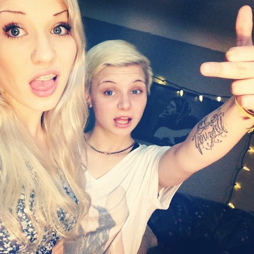 #love #baby #wife #girl #cute #girlfriend #blonde #tattoo #lights #stuff #igdaily @christiebabyxo