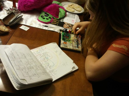 My little sister is obsessed with robotics. She's one of only a handful of girls in digital engineering at her 2000+ student high-school. She aspires to one day rule the world. She also acts like a 17-year-old Tony Stark. I am confident in her abilities.
