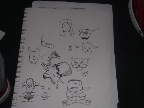 waiting room sketches