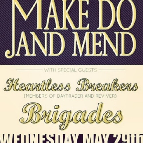 One week. #Heartlessbreakers @makedoandmend @shredshedslc
