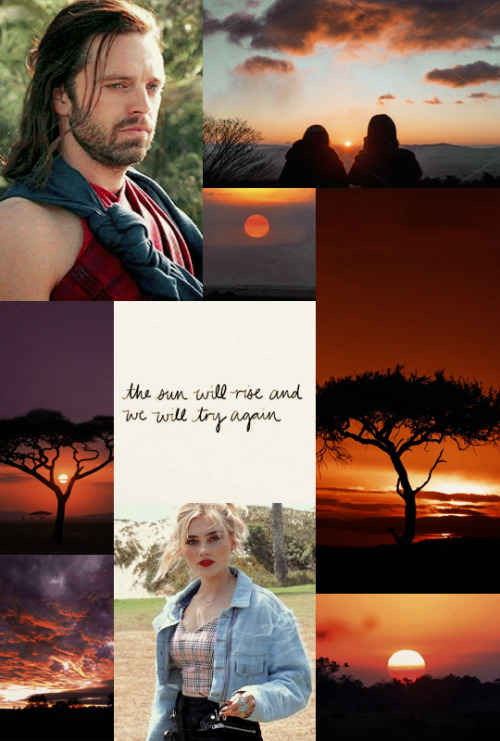 OC Summer Challenge 2021 ✤ Day 23: Watching The Sunrise  Nikki Rogers ✤ American PieNikki knew that being the first person formally invited to Wakanda was a huge deal, and she was more honoured than she could ever put into words. But truth be told, that honour was nothing compared to the knowledge that it was Bucky who had wanted to see her, to actually meet her. She hadn't realized until that moment just how scared she was that he wouldn't want to know her.Forever  Tag List: @themildestofwriters @gottaenjoythelittlethingzz @perhapspearl @seaweedhufflepuffocs @the-october-reviewer @foxesandmagic @perfectlystiles @tessasocs @anotherunreadblog @peacheydelanhoes @darkwolf76 @randomfandomingwrites @ocfairygodmother @itsjustgracy @witchofinterest @neutralomens @ultraocfury @guardiansofheroes @malice1329 @ochub @zoeliemyers @butcherofblackwater @eddysocs @ocappreciationtag @fiercefray @stareyedplanet @farfallasunicas @jewelswrites-ish @amixedwitch @raith-way @stilynskii @stanshollaand @decennia @marveloc-hq — want to be added? shoot me an ask!Nikki Tag: @megdonnellys @fantasiame #ocappreciation#allaboutocs#queerocs#marveloccommunity #oc summer challenge 2021 #nikki rogers #nikki x bucky  #but like platonic  #american pie series #my work#my edits#my moodboards#my ocs#marvel oc