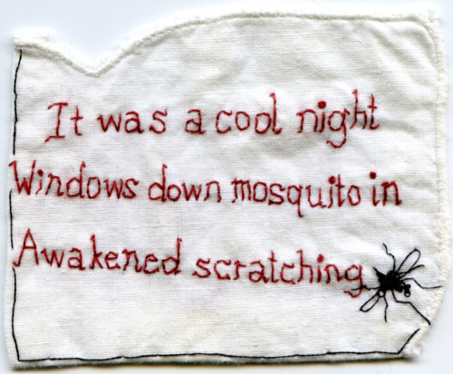 Mosquito. Text by @lisakimlisakim aka Lisa Kim, Cultural Affairs Director, Two Trees Management.