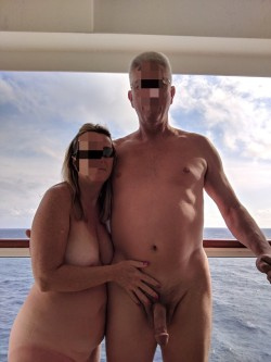 """""""From the last cruise"""" - thank you for sharing your nude"""