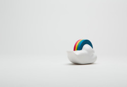 pure-and-honest:  merry cloud tape dispenser by studio gongdreen