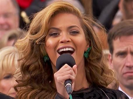 "Beyoncé lip-synched national anthem at inauguration (Photo: NBC News) It's true what you're hearing about what you heard not being ""true."" Beyoncé's spectacular inaugural performance of the national anthem was indeed lip-synched. Read the complete story."