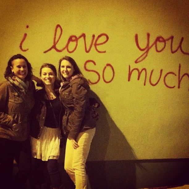 Austin= love + friends (at I Love You So Much Graffiti)