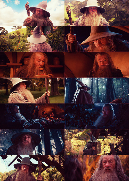 Gandalf in An Unexpected Journey