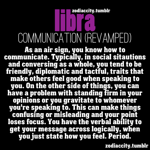 zodiaccity:  LIbra Communication.  That's mostly me..