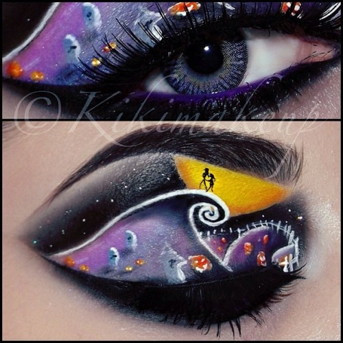 kikimakeup:  We can live like Jack & Sally if we want…