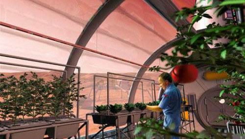 Farming on Mars: NASA ponders food supply for 2030s mission Gravity, space radiation and artificial lighting are just some of considerations in feeding manned missions to Mars.
