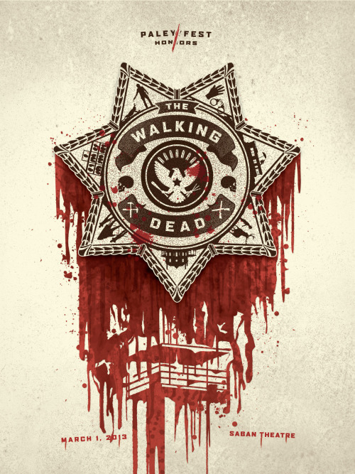 The Walking Dead | Paleyfest Posters