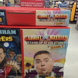 My new DVD just hit Walmart. I'm right next to Jeff Dunham. I'm in good company. #IkillYou
