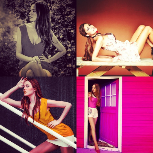 Pictures of Sandra's photoshoot.