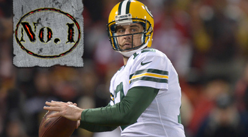 cbssports:  We ranked the 100 best players in the NFL and Aaron Rodgers topped the list.