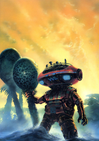 The Robots Of Dawn, Chris Foss