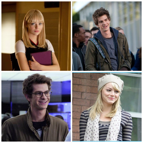 avenging-stonefield:  Andrew Garfield and Emma Stone + the amazing spider man