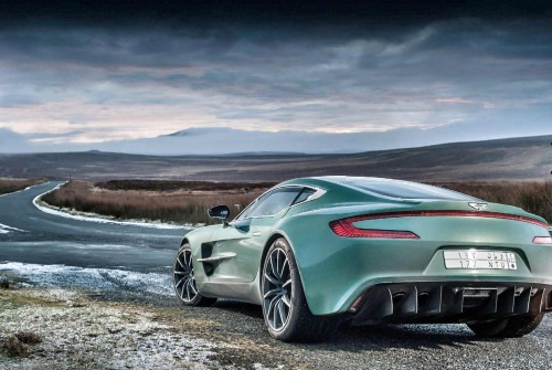 fabforgottennobility:  Aston Martin One-77  One-77 I sure hope the typography is better inside this model than in the others.