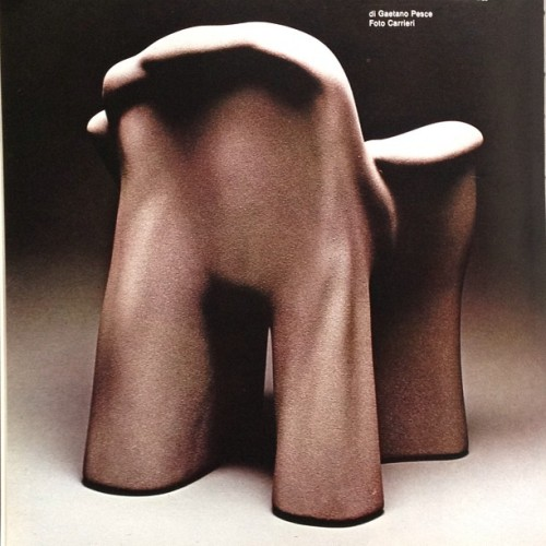 #gaetanopesce #chair #cityfurniturebe #vintagedesign #interiordesign #decorative http://on.fb.me/10O1eLp