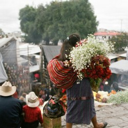 Flowers for you. #film #guatemala
