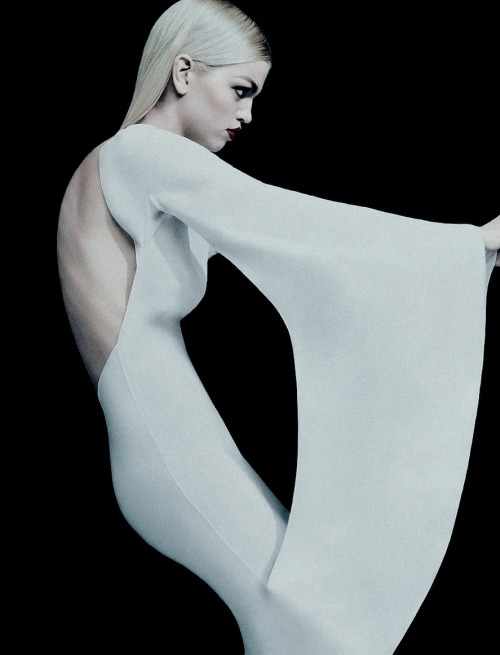 pradaphne:    Daphne Groeneveld photographed by Sebastian Kim for Numéro Russia April 2013.