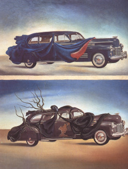 Car Clothing (Clothed Automobile) - Salvador Dali, 1941