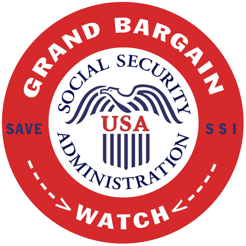 If a 'Grand Bargain' involves cuts to Social Security, liberal dems say they'll fight it. Over 100 House liberals tell Democratic leadership that Chained CPI is a non-starter. [image via DonkeyHotey]