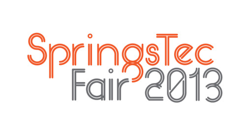In the process of developing the identity for SpringsTec Fair 2013 I started the development of a bespoke typeface design for the main logotype. The subject of the event being focused on springs led me to use a twin stroke for the letterforms based on the concept that springs are elastic objects that store mechanical energy. Using a geometric grid characterises the circular form of spring objects further emphasised by subtle overlaps. The typeface is a work in progress that I hope to refine later on this year.