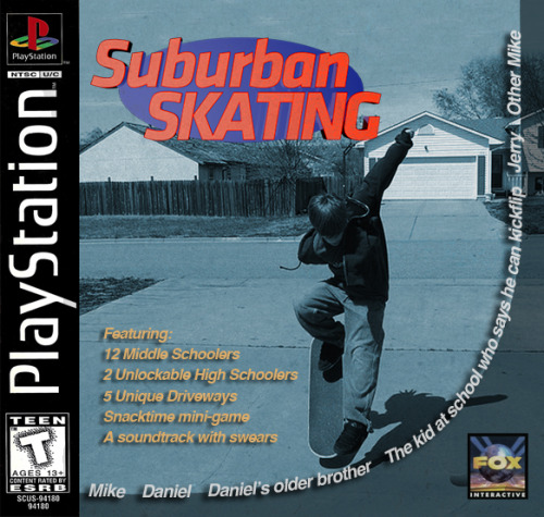 lowinterest:  Suburban Skating - PS1 (1999)