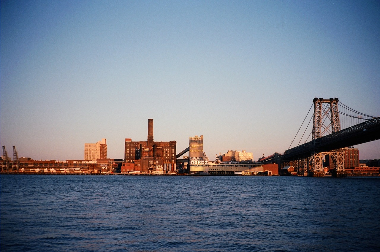 Domino Sugar Factory in Williamsburg, Brooklyn New York, NY / Contax T2 / Kodak Portra 160VC / April 2013