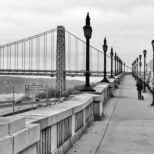 Riverside Drive view of the GWB shot by @himjawa #instagramuptown #uptown #inwood #washingtonheights #nyc #newyorkcity #exloranyc #photography #art #local #community