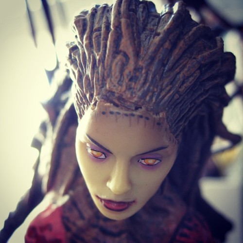 Queen of Blades. #kerrigan #starcraft #awesome #badass