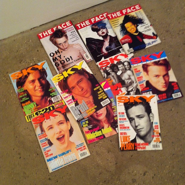 Catching up on all da hottest trendz ….. Of the 90's ! (Taken with Instagram)