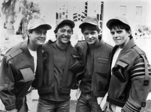 marteastic:  Michael J. Fox and his stunt doubles