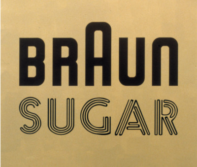 Braun Sugar, Johannes Wohnseifer, b. 1967, signed and dated 'Brown Sugar 2004' (on the reverse), acrylic on stainless steel