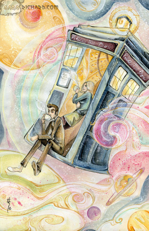 badvvolf:  Timey-Wimey Tea Time by *SaraRichard