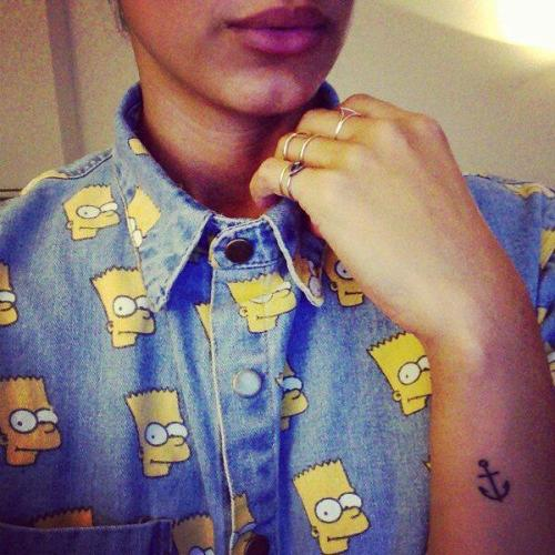 fashionpassionates:  Get the Bart Simpson Shirt here: BART SIMPSON SHIRT Shop FP | Fashion Passionates
