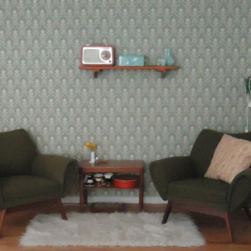 Wallpaper!! #vintage #vintagehome #vintagedecor #vintageliving #vintageinterior #retro #retrohome #retrodecor #retroliving #retrointerior #kitsch #kitschdecor #kitschliving #kitschinterior #wallpaper