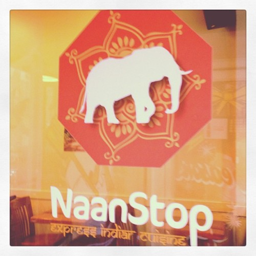 Can't stop, won't stop, @naanstop. Where do you #lunchlocal? (at NaanStop)
