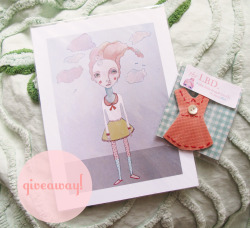 Win a 5X7 print and Little Brooch Dress! A lovey Dovey giveaway!! Click here to enter!