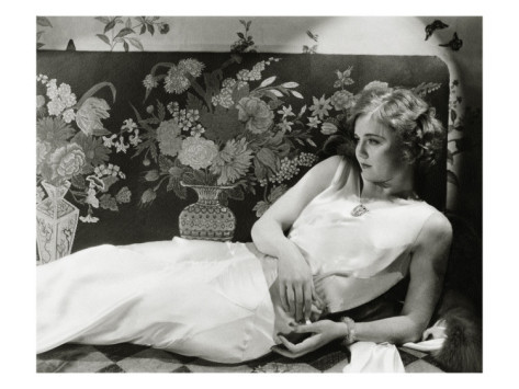 Nancy Carroll in Vanity Fair, photographed by Cecil Beaton