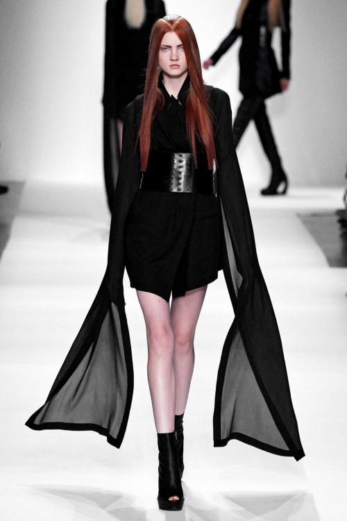 fashion runway Ann Demeulemeester spring 2013 rtw