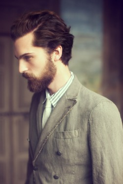 beardsftw:  beardbriarandrose:  from Messagerie look book S/S 2013  [[ Follow BeardsFTW! ]]