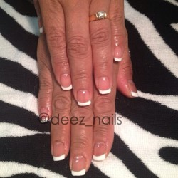 gel polish french mani for Big Momma 👩 #deeznails #nails #nailed #nailart #nailporn #nailswag #nail_fans #nailartist #naildesign #nailpolish #naildesigner #gelpolish #getnailed #vancouvernails #vancouver #richmond #steveston