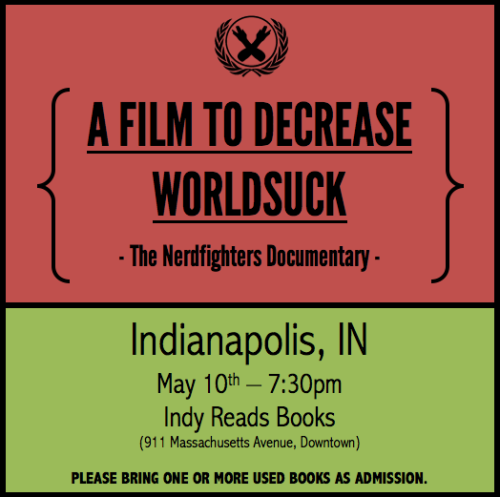 Click to RSVP on Facebook to our INDIANAPOLIS screening on MAY 10th!