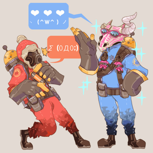 cezareo:  This is me trying to talk to one of my cool tf2 friends. >w<