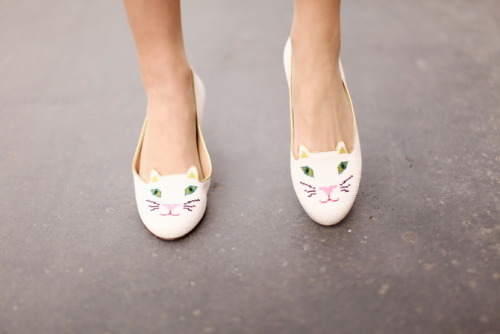 what-do-i-wear:  Chaussures / Shoes : Charlotte Olympia (image: thecherryblossomgirl)
