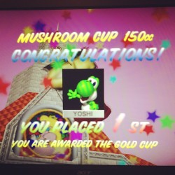 Still got it baby! #mariokart #yoshi #1st #killinit #tbt #imprettygangstermyself #grimace