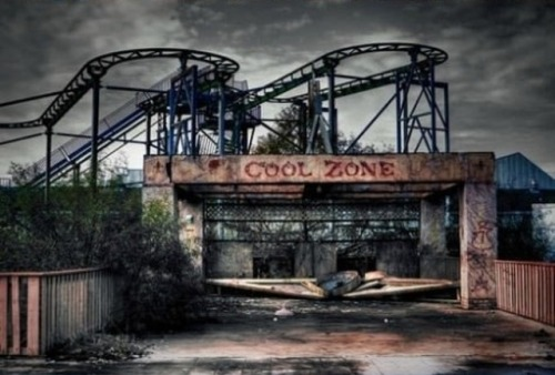 Abandoned Amusement Park in New Orleans