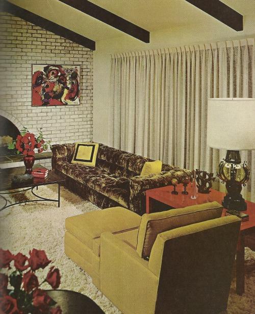 1960s interior design   Tumblr