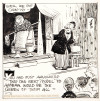 thebristolboard:  A gallery of original Embarrassing Moments strips, an underrated side project by Krazy Kat creator, George Herriman. Embarrassing Moments was a single-panel gag comic featuring the everyman, Bernie Burns, which began appearing in various newspapers in 1922 and was drawn by several cartoonists. Herriman worked on the strip from 1928-1932, when it was cancelled.